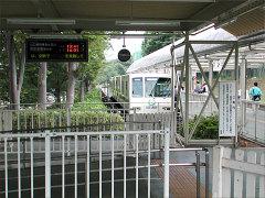 山口線(レオライナー)西武球場前駅