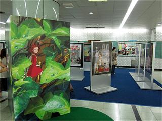 東京メトロ清澄白河駅構内展